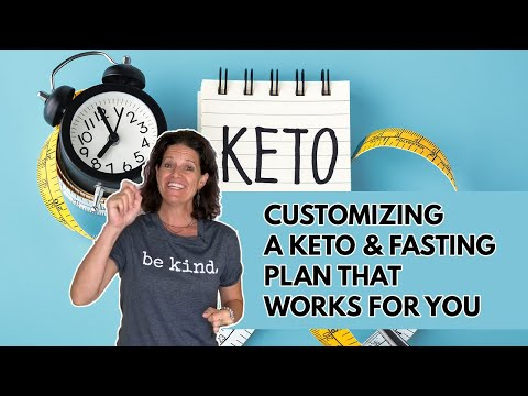 KETO DIET VARIATION- Steps to Customizing A Keto & Fasting Plan that Works For You thumbnail