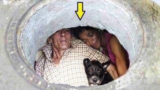 Lạ kỳ 2 Vợ chồng suốt 22 năm chung sống dưới cống, ai cũng choa'ng khi vào bên trong
