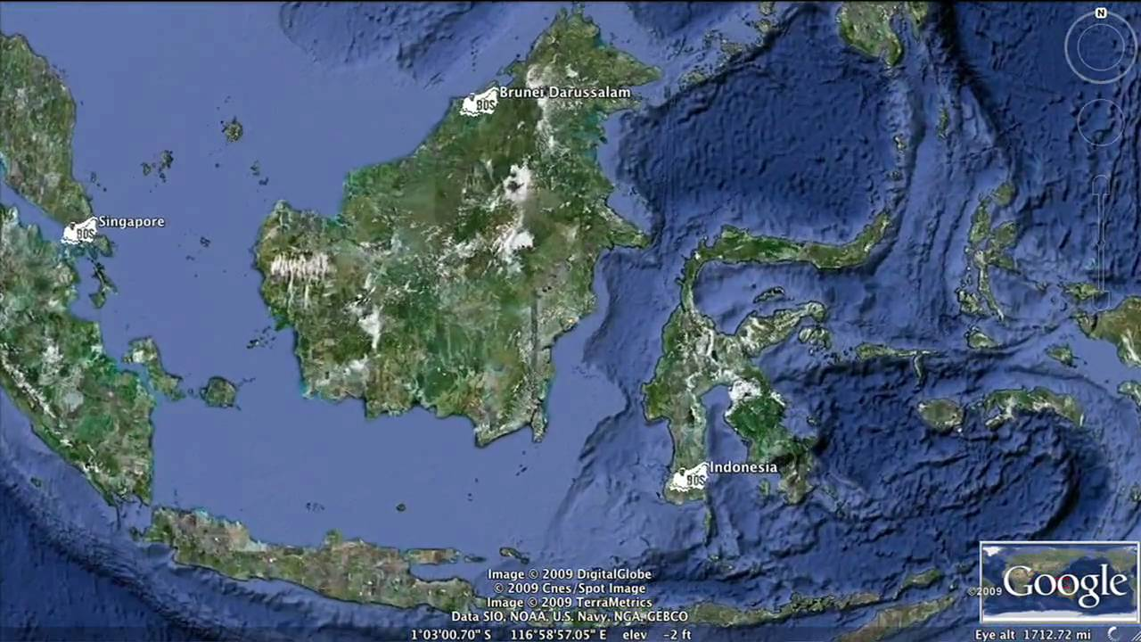 Google earth hero bos borneo rain forest youtube gumiabroncs Choice Image