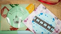 Geschenk-Gutschein selber machen - Städtereise DIY | schön-einpacken