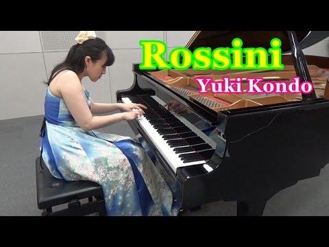 ウィリアム・テル序曲より(ロッシーニ)ピアニスト 近藤由貴/ Rossini: William Tell Overture Finale Piano Solo, Yuki Kondo