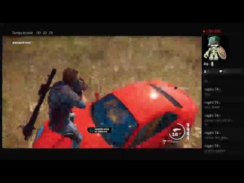 Diffusion PS4 De Just Cause 3 [Délire] #1