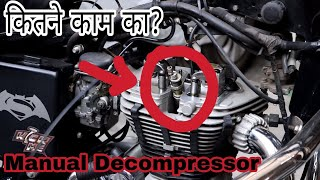 Manual decompressor in UCE Installation and Review