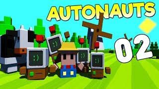 Прохождение Autonauts: #2 - ПЕРВЫЕ СЛИТКИ!
