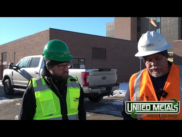 Recycled Idaho- BOTG - David Aparicio & Nick Snyder tour local hospital demo full podcast to follow