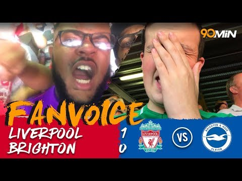 Salah puts Liverpool at the top of the league! | Liverpool 1-0 Brighton | 90min Fanvoice