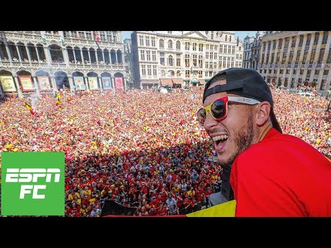 Eden Hazard leads Belgium's incredible 2018 World Cup celebrations | ESPN FC