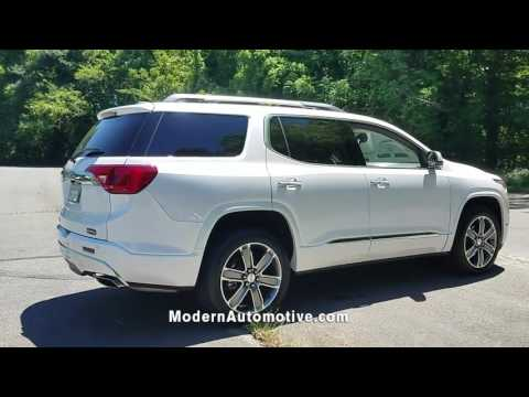 USED 2017 GMC ACADIA DENALI at Modern Infiniti Greensboro #5P1463A