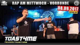 RAP AM MITTWOCH WIEN: 08.09.17 Vorrunde feat. TOAST4ME, FRESH TONY, NICHT SICHER uvm. (2/4)
