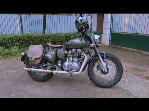 MotoVLog - Review 2000+ Kilometer Pakai Royal Enfield Classic Battle Green 500