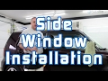 Window Tinting: Side Window Installation (Two Stage Method)