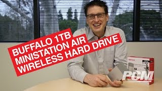 Buffalo MiniStation Air 1TB Wireless Hard Drive For Wireless Multimeida Streaming Overview - PCM