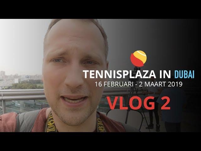 Tennisplaza in Dubai - Vlog 2: Interview met Osaka, Kvitova en Pliskova