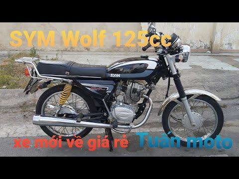 @tuấn moto  . Siêu phẩm giá rẻ .moto SYM Wolf 125cc mới về xe rin để anh em sử dụng .LH 0369669659