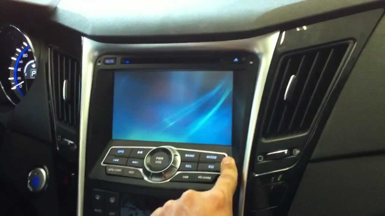 Multimidia Hyundai Sonata Youtube