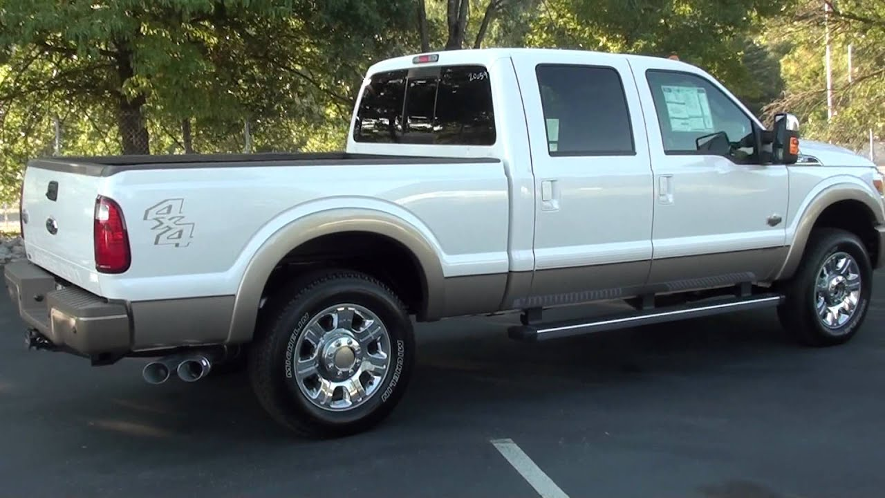 2012 f250 king ranch white platinum for sale autos post. Black Bedroom Furniture Sets. Home Design Ideas