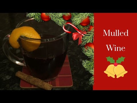 Easy Christmas Mulled Wine Recipe :)