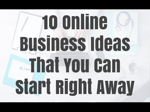 10 Online Business Ideas That You Can Start Right Away