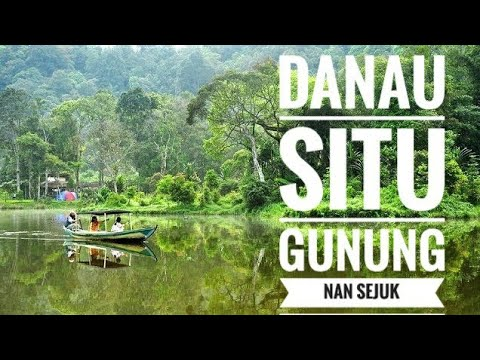 Situ Gunung Lake Sukabumi Indonesia