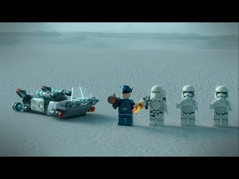 First Order Transport - LEGO Star Wars - 75166 Product Animation