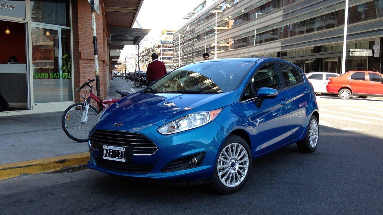 Ford Presento Al Nuevo Fiesta Kinetic Design Youtube