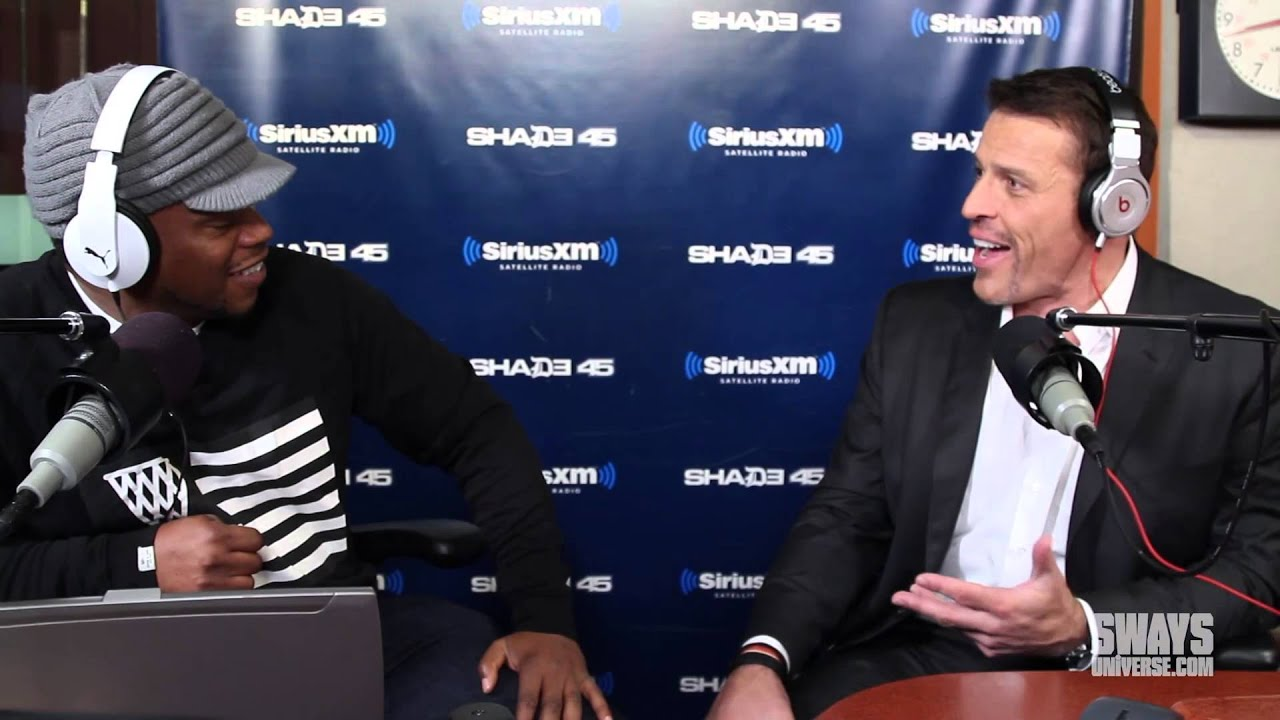 Tony Robbins on consultation with Big Sean & LL Cool J, importance of music & gives financia