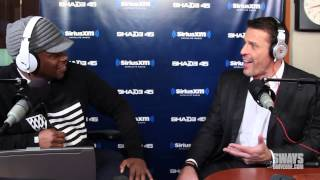 Tony Robbins on consultation with Big Sean & LL Cool J, importance of music & gives financial advice
