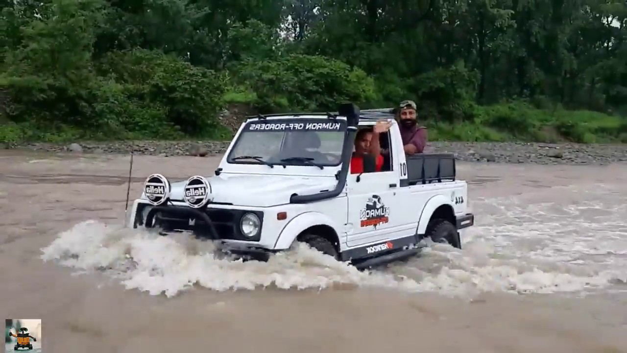 Crazy Car Driving Skills Cars Crossing Extreme Heavy River Off Road