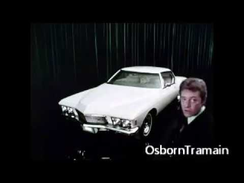 1971 Buick Riviera Commercial  Featuring Paul Burke