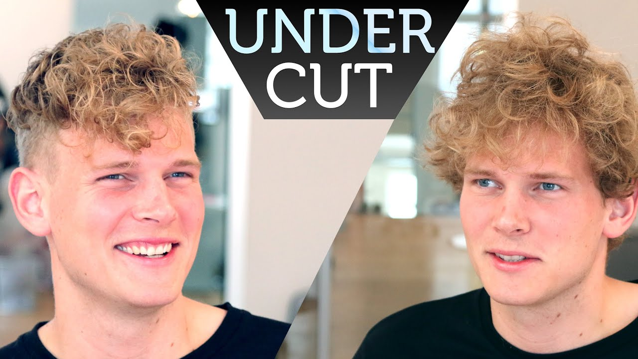 Undercut With Curls And Texture On Top I Mens Hair Inspiration - Hairstyle undercut terbaru