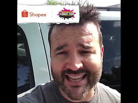 Austin St. John Will Be Joining At Shopee Indonesia Comic Con 2019!