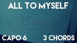 How To Play All To Myself by Dan + Shay | Capo 6 (3 Chords) Guitar Lesson Mp3