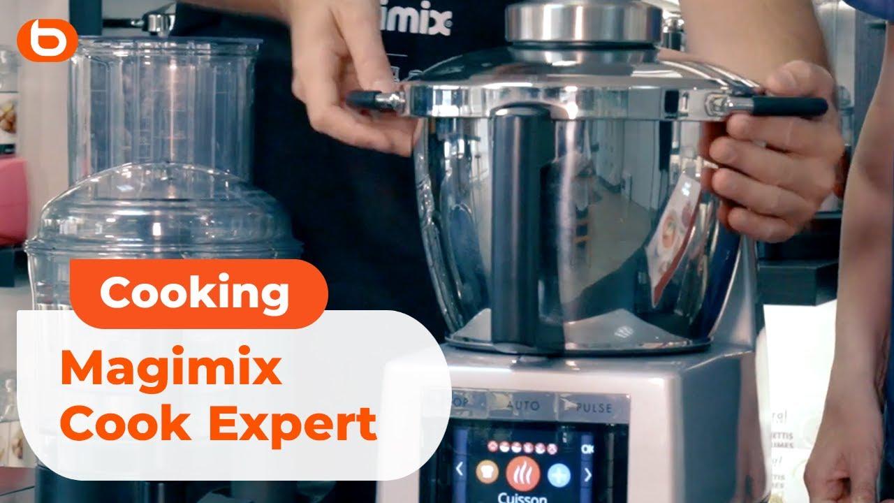presentation du robot magimix cook expert