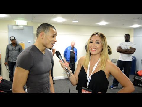 Chris Eubank Jr. talks about when he trained with ...