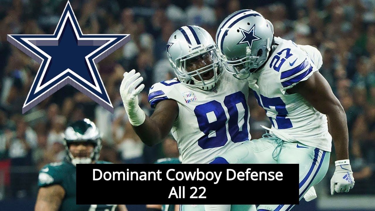 Demarcus Lawrence & Defense Dominate Eagles With Turnovers || Dallas Cowboys Film Session