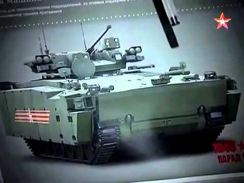 TV Zvezda - T-14 Armata MBT, Armata BMP IFV & Kurganets 25 BMP IFV/BTR ICV Design Features [480p]