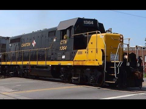 Canton Railroad, Baltimore City, Maryland
