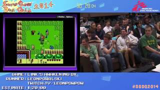 Summer Games Done Quick 2014 - Part 117 - Legend Of Zelda: Link's Awakening DX