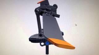 Lego Realistic Helicopter Rotor Head Swashplate Cyclic Animation LDD