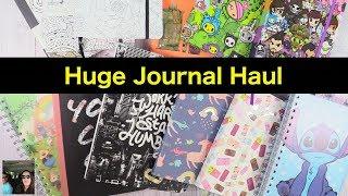 Journal Haul Bullet ColorIt Tokidoki Disney & More Unboxing   PaulAndShannonsLife