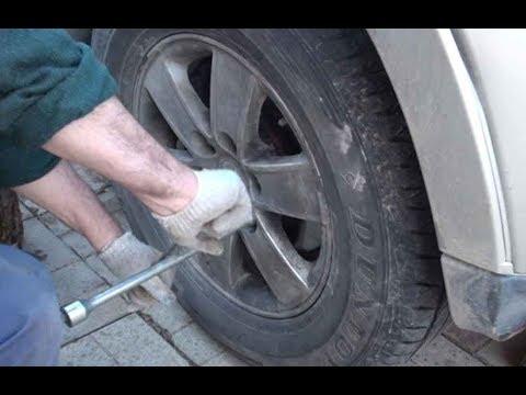 Паджеро-4, сезонная замена колес, что нужно знать. Ремонт тяги датчика положения кузова.