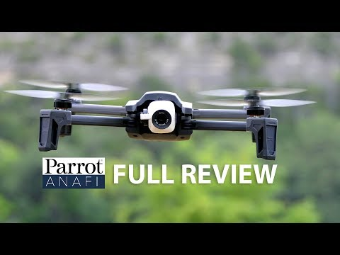 Parrot ANAFI Drone Review