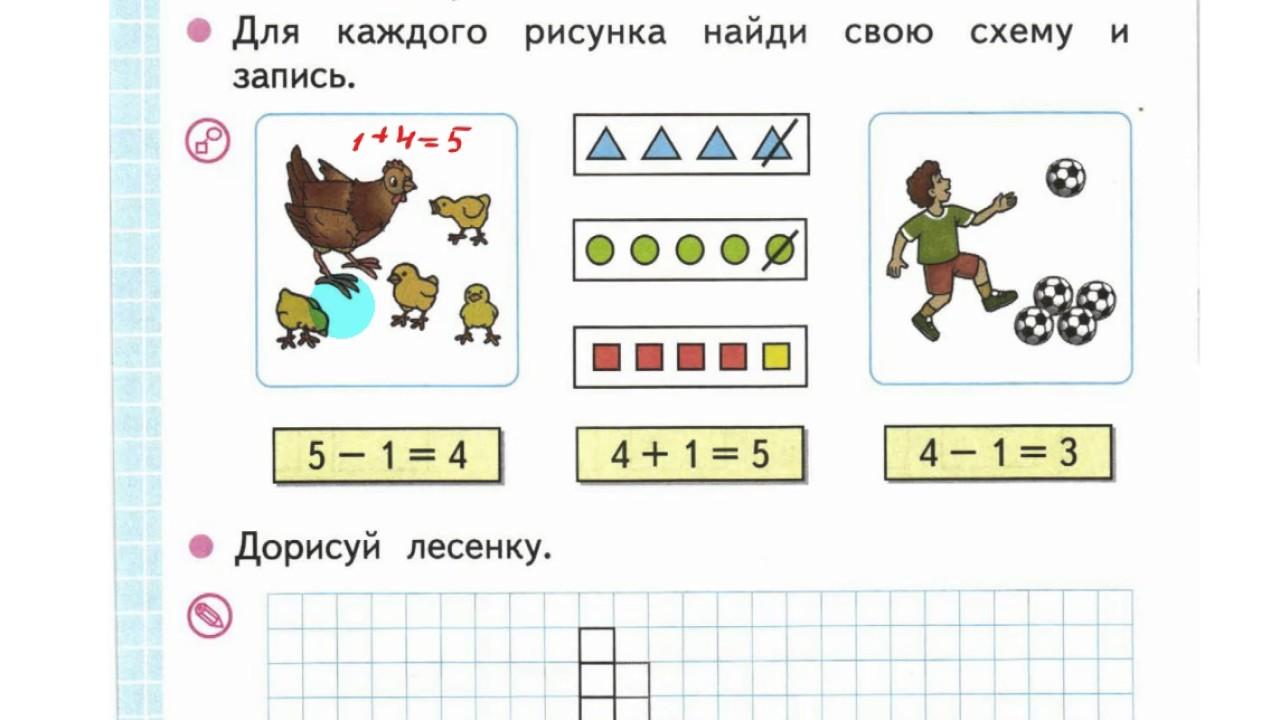 Купить книгу «математика. 1 класс. Рабочая тетрадь. Часть 2. Умк