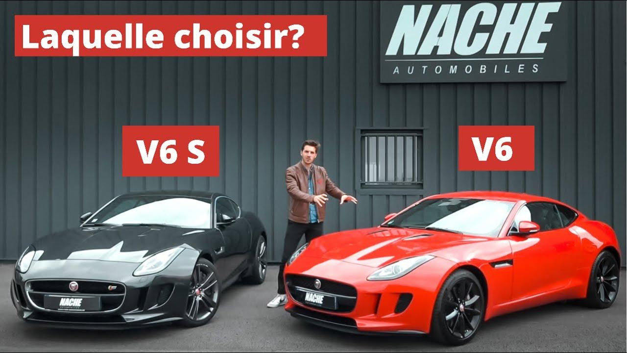 F-Type V6s VS V6! Le match final! Mieux qu'une V8?