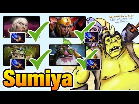 Sumiya [Invoker] Dota2 All Team Got Aghanim