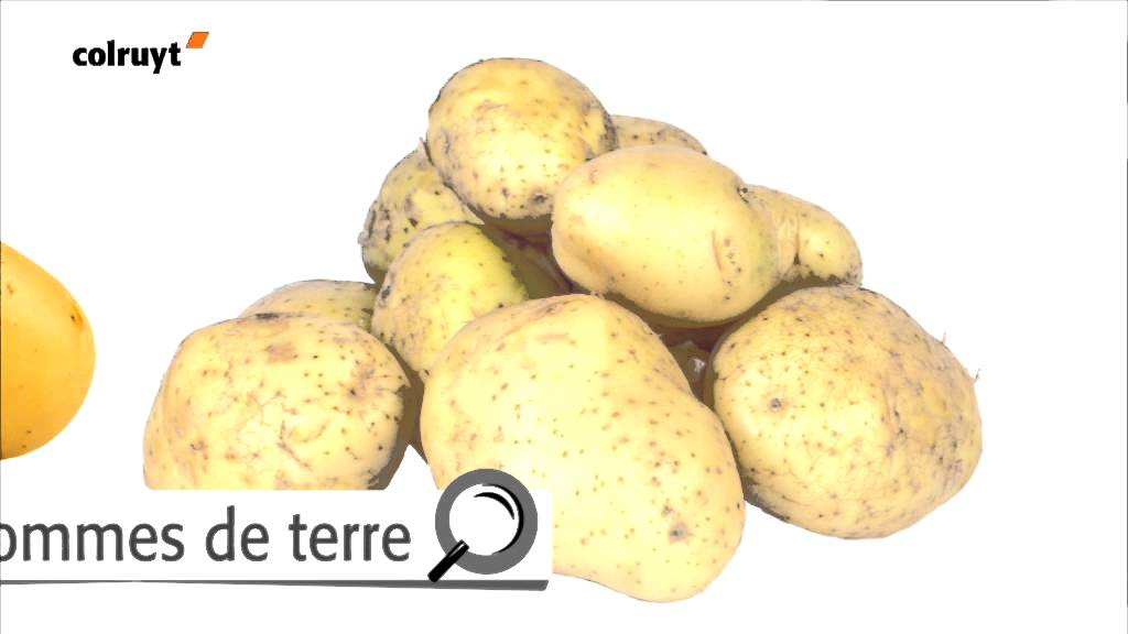 Vari t s de pommes de terre pommes de terre de conservation colruyt youtube - Conservation pommes de terre cuites ...