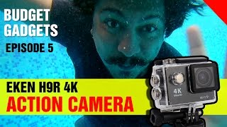 Eken h9 4k action camera | review india / h9r in this episode 5 of budget gadgets on the techshan channel i bring you guys a ac...