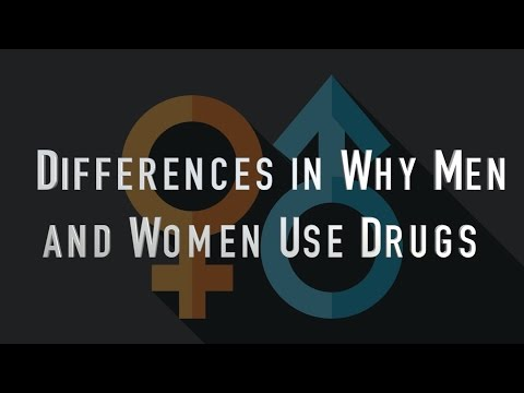 Differences In Why Men And Women Use Drugs