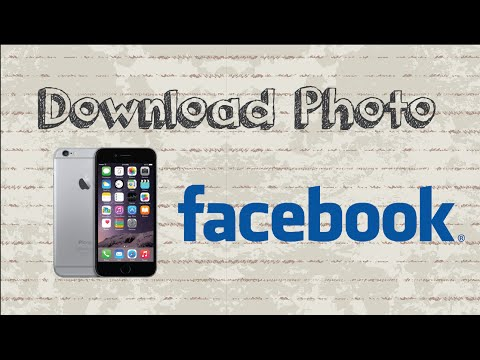 How To Download Photo From Facebook | Mobile App (Android & Iphone)