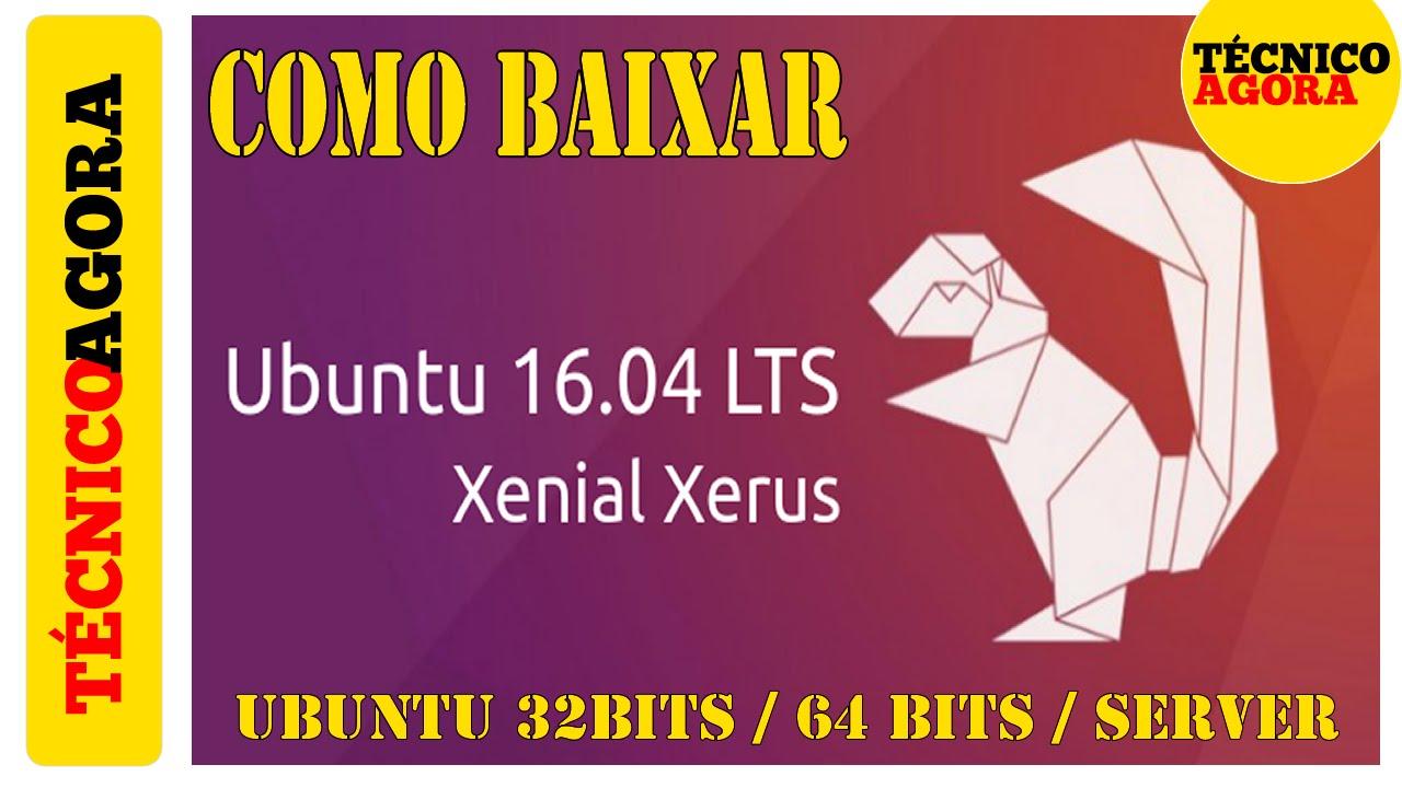 linux ubuntu 16.04 lts 32 bits